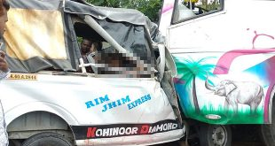 12 dead in bus-van head-on collision